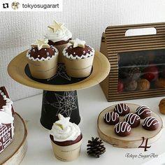 #Repost @tokyosugarart with @repostapp  カップケーキの上に星のクッキーを飾るとChristmasの雰囲気が楽しめますよ 東京シュガーアートのインスタをシェアしてます #東京シュガーアート#レッスン#シュガーアート#シュガークラフト#東京#恵比寿#芦屋#アイシングクッキー#カッブケーキ#アイシングポッブス#クリスマス#クスパクリスマス2016#アドベントカレンダー#tokyosugarart#sugarart#sugarcraft #icingcookie #royalicing #sugardecoration  #instagood #instacookies #instasweet #instafood  #kawaii #sugarcookies #sugar #cupcake #icingpops  #christmas