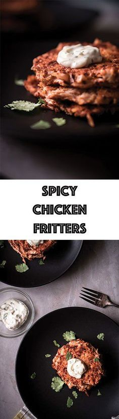 spicy chicken fritters recipe low carb keto gluten free