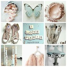 Mixed pastel colors #color #love #moodboard #lifestyle #interior #fashion
