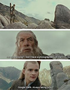 Vacation and LOTR memes More