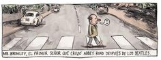 Macanudo Abbey Road, Laugh Out Loud, The Beatles, Comic Art, Play, Board, Quotes, Ideas, Comic Strips
