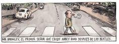 el clásico camino… Abbey Road !!