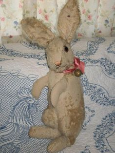 MY STEIFF LIFE: All Ears About This Beautiful Vintage Steiff Bunny!