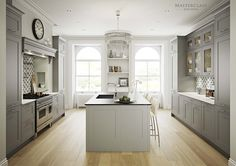 UK Kitchen Manufacturers Since 1975 Grey Shaker Kitchen, Shaker Kitchen Cabinets, Shaker Style Kitchens, New Kitchen, Kitchen Ideas, Fitted Kitchens, Modern Kitchens, British Kitchen Design, Grey Kitchen Designs
