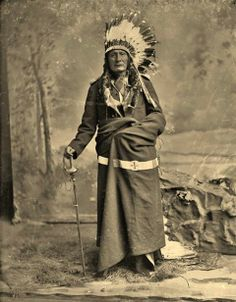 Aboriginal and Tribal Nation News Sunk Gleska (aka Spotted Horse), the son of Hunts The Enemy and Laugh - Oglala - circa 1877
