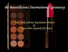 Be Beautilicious International Giveaway – Win Sleek Makeup Of Choice