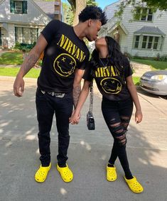 Freaky Relationship Goals Videos, Black Relationship Goals, Couple Goals Relationships, Couples Assortis, Cute Couples Goals, Football Couples, Football Girlfriend, Matching Couple Outfits, Matching Couples