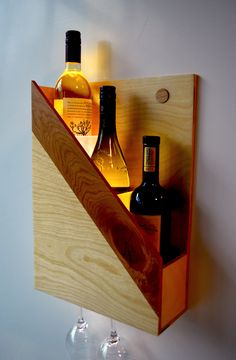 Items similar to Wine rack on Etsy - vinoteca - Schnaps