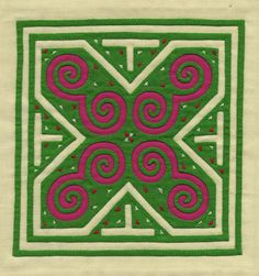 paj ntaub or story cloth Hmong People, Reverse Applique, Applique Quilts, Fiber Art, Needlework, Vibrant Colors, Cross Stitch, Textiles, Embroidery