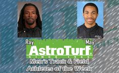 UNCP's Ray, UAH's May Named Men's Track & Field AstroTurf Athletes of the Week