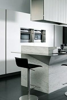 Gamadecor | G975 Corian Kitchen