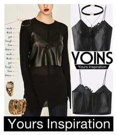 """""""YOINS"""" by aida-ida ❤ liked on Polyvore featuring beauty, vintage, yoins and loveyoins"""