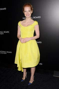 Jessica Chastain - Oscar de la Renta