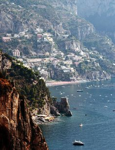 The Amalfi Coast, Italy...Ill never forget this drive!! Most beautiful place in Italy