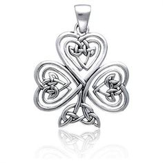 celtic knot, tree of life, shamrock pendant