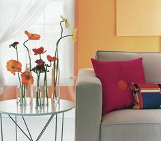 Canvas the Area | Ideas that call for a little imagination, and little money, add instant style to any decor.