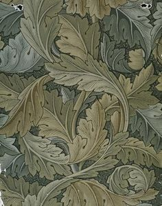 William Morris wallpaper - Acanthus leaf