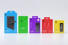 Packaging designed by Hype Type Studio in collaboration with Mash Creative for high end mobile phone, tablet and laptop accessories company U-Bear