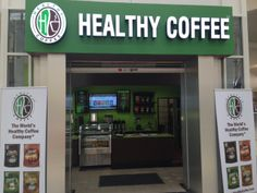 Healthy Coffee Cafe Westminster Mall, CA 714-892-0143 Come Check us out Now Open!!!