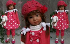 ANGELA SUTTER DOLL BIBI - artist doll by Angela Sutter