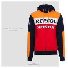 Repsol Honda MOTOGP 2018/Teamwear Herren blau Hoody Hoodie Bike Racing Gr/ö/ßen S-XXL