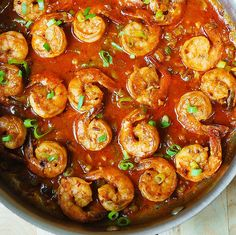Easy Spicy Cajun Shrimp (with sauce)