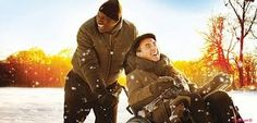 Untouchable - hilarious feel good French movie. Omar Sy is brilliant as the down to earth assistant to a disabled man (Francois Cluzet) after he becomes a quadriplegic following a flying accident.