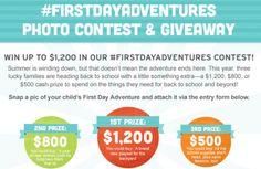 Kindercare #FirstDayAdventures Photo Contest & Giveaway