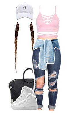 """""""Love in the 90's"""" by queen-tiller ❤ liked on Polyvore featuring Givenchy and NIKE"""