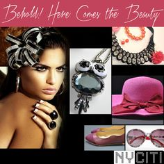 Is beauty really in the eye of the beholder? Get set with NYCITI accessories and get the answer.