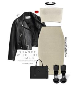 """Untitled #483"" by samanthamichele ❤ liked on Polyvore featuring Acne Studios, Calvin Klein Collection, Pierre Hardy, Yves Saint Laurent, Miss Selfridge and Crislu"