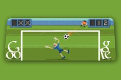 London 2012 Olympics football Google Doodle 08.10.12