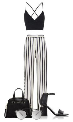 """""""oo"""" by horvat-rea ❤ liked on Polyvore featuring Nicholas, Topshop, Alexander Wang, Furla and Christian Dior"""