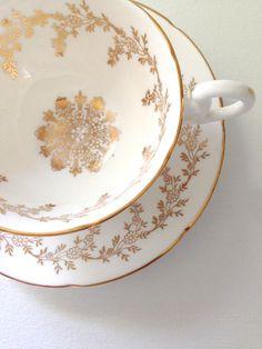 English Fine Bone China Royal Grafton Teacup by MariasFarmhouse, $75.00
