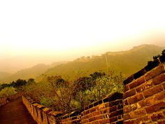 I took this photo on my trip to China in April 2012. It was taken on the Mutianyu section of the Great Wall of China.