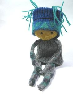 ... toy Small soft doll OOAK doll