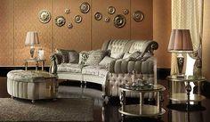 italian style furnishings | furniture design in Italian style, Baroque living room furniture ...