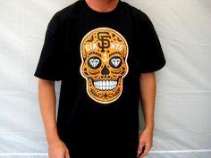 Mens San Francisco Giants 'Calavera' T-Shirt by americanathens
