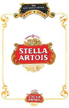 El nombre de Stella (estrella, en látin) fue dado por el color claro e impoluto de la cerveza, contrastante con su sabor fuerte y lleno de carácter.El logotipo es la imagen de la excelencia de Stella Artois, la estampa que la hace reconocible antes de llegar a la boca.Como la cerveza misma, el logo es un diseño perfecto.