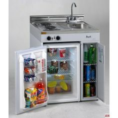 Avanti Complete Compact Kitchen with Refrigerator