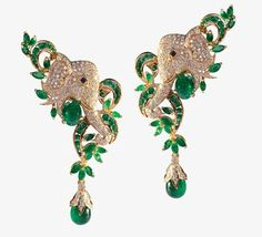 Elegant green-emerald-jewelry