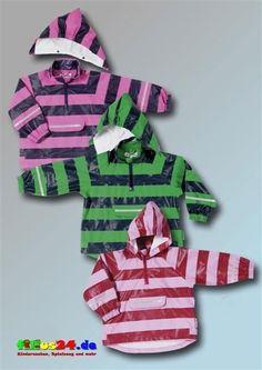 Playshoes Regen-Poncho Streifen Regenjacke Regencape Kinder