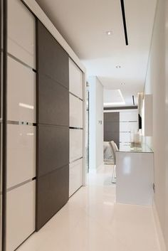 Sliding wardrobes to master bedroom from Herrington Gate
