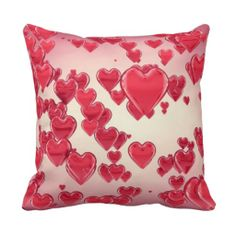 Happy Valentine's Day Throw Pillows