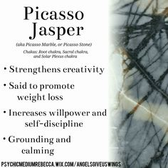 Picasso Jasper crystal meaning