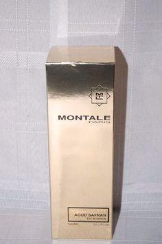 Montale Paris Perfume Aoud Safran Spray Authentic 3-1/3 oz. in Box  #MontaleParis