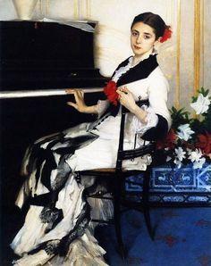 """John Singer Sargent, """"Madame Ramon Subercaseaux"""", (1881)"""