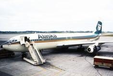 Alaska Airlines, Aviation, Aircraft, Spacecraft, Planes, Vintage, Airplanes, Spaceship, Craft Space