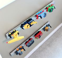 5 Most Underrated Kids Products At IKEA, including this knife rack as a car or train holder.