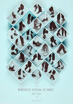 Amy Rodchester | Newcastle Festival of Dance Posters | bumbumbum